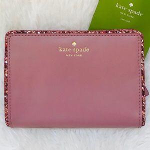 Kate Spade Tellie Seton Drive Dusty Peony Wallet